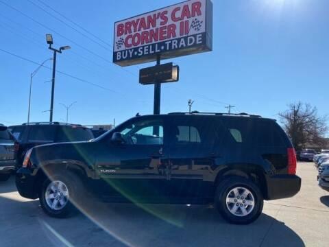2014 GMC Yukon for sale at Bryans Car Corner in Chickasha OK