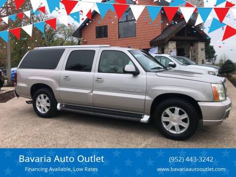 2004 Cadillac Escalade ESV for sale at Bavaria Auto Outlet in Victoria MN