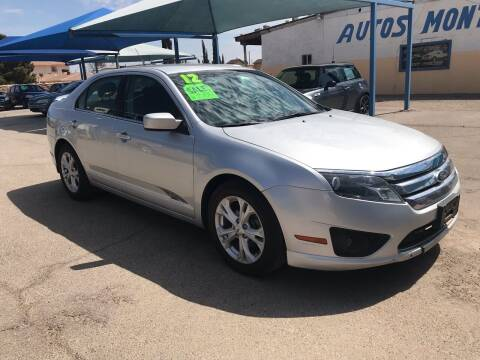 2012 Ford Fusion for sale at Autos Montes in Socorro TX