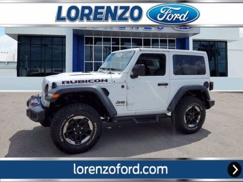 2018 Jeep Wrangler for sale at Lorenzo Ford in Homestead FL