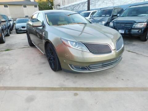 2013 Lincoln MKS for sale at AMD AUTO in San Antonio TX