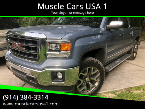 2015 GMC Sierra 1500 for sale at Muscle Cars USA 1 in Murrells Inlet SC