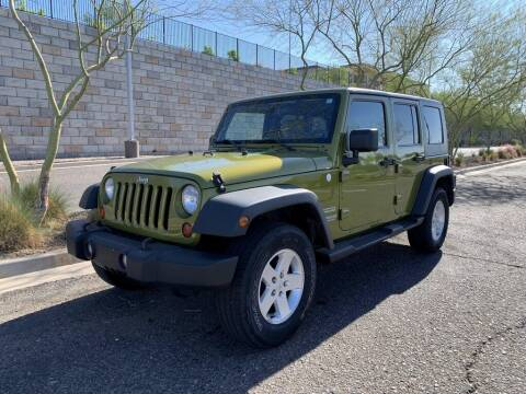 2010 Jeep Wrangler Unlimited for sale at AUTO HOUSE TEMPE in Tempe AZ