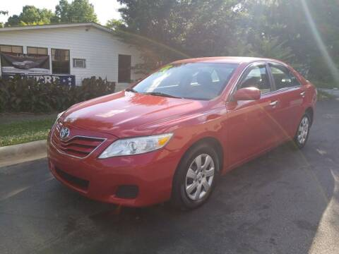 2011 Toyota Camry for sale at TR MOTORS in Gastonia NC