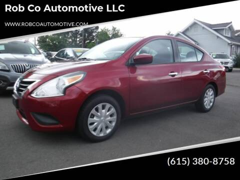 2016 Nissan Versa for sale at Rob Co Automotive LLC in Springfield TN