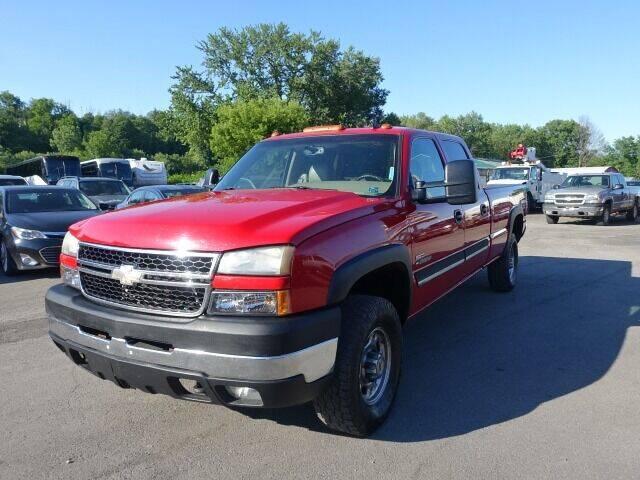 2007 Chevrolet Silverado 2500HD Classic for sale at Simply Motors LLC in Binghamton NY