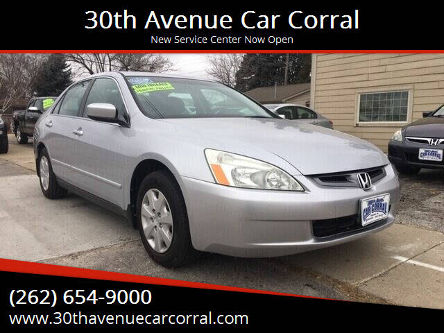 2004 Honda Accord for sale at 30th Avenue Car Corral in Kenosha WI