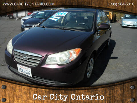 2008 Hyundai Elantra for sale at Car City Ontario in Ontario CA
