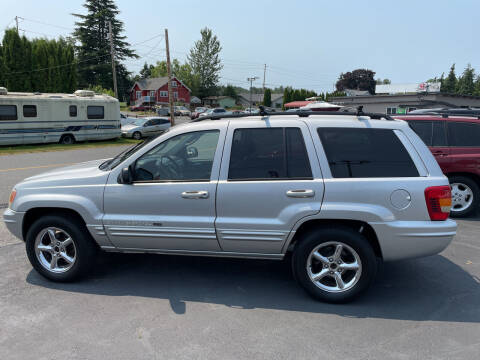 2002 Jeep Grand Cherokee for sale at Westside Motors in Mount Vernon WA