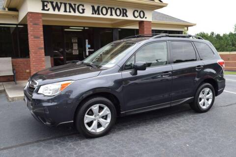 2015 Subaru Forester for sale at Ewing Motor Company in Buford GA