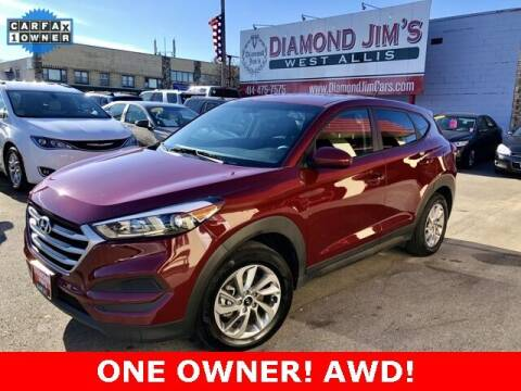 2018 Hyundai Tucson for sale at Diamond Jim's West Allis in West Allis WI
