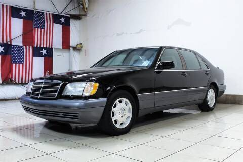 1995 Mercedes-Benz S-Class for sale at ROADSTERS AUTO in Houston TX