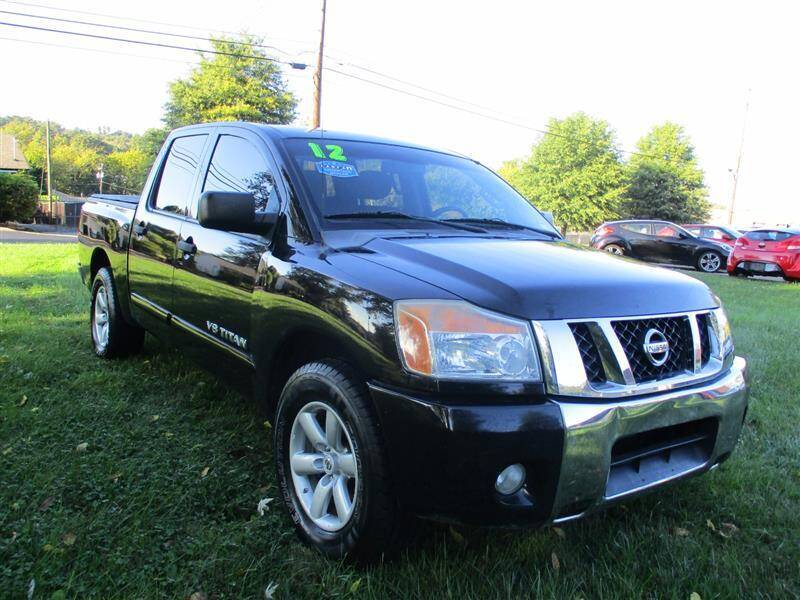 2012 Nissan Titan for sale at Euro Asian Cars in Knoxville TN