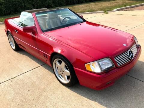 1995 Mercedes-Benz SL-Class for sale at Jetset Automotive in Cedar Rapids IA