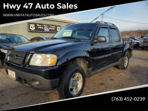 2005 Ford Explorer Sport Trac for sale at Hwy 47 Auto Sales in Saint Francis MN