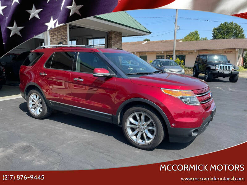 2013 Ford Explorer for sale at McCormick Motors in Decatur IL
