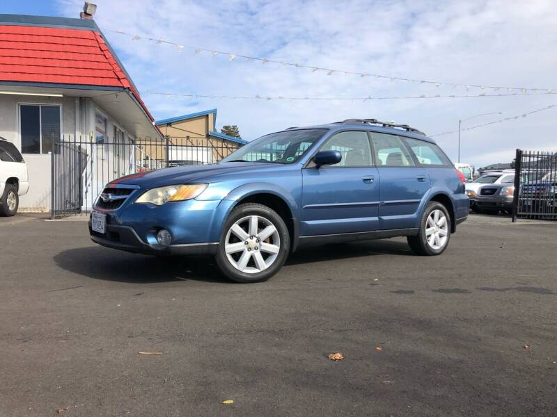 2008 Subaru Outback for sale at BOARDWALK MOTOR COMPANY in Fairfield CA