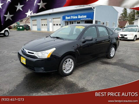 2010 Ford Focus for sale at Best Price Autos in Two Rivers WI