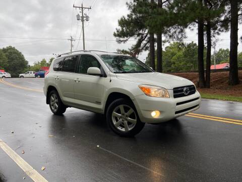 2007 Toyota RAV4 for sale at THE AUTO FINDERS in Durham NC