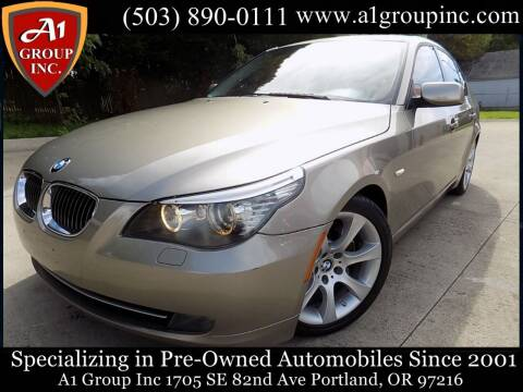 2008 BMW 5 Series for sale at A1 Group Inc in Portland OR