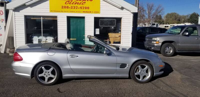 2003 Mercedes-Benz SL-Class for sale at ABC AUTO CLINIC - Chubbuck in Chubbuck ID