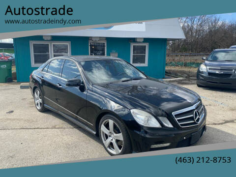 2010 Mercedes-Benz E-Class for sale at Autostrade in Indianapolis IN