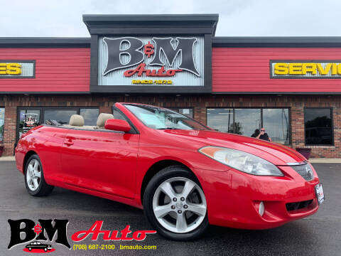 2005 Toyota Camry Solara for sale at B & M Auto Sales Inc. in Oak Forest IL