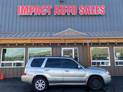 2006 Subaru Forester for sale at Impact Auto Sales in Wenatchee WA