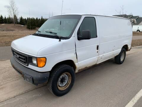 2004 Ford E-Series Cargo for sale at Major Motors Automotive Group LLC in Ramsey MN