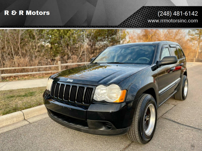2008 Jeep Grand Cherokee for sale at R & R Motors in Waterford MI