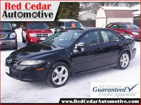 2007 Mazda MAZDA6 for sale at Red Cedar Automotive in Menomonie WI