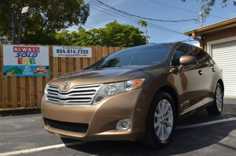 2009 Toyota Venza for sale at ALWAYSSOLD123 INC in Fort Lauderdale FL
