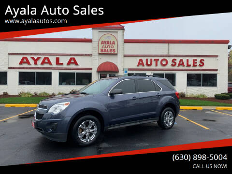 2014 Chevrolet Equinox for sale at Ayala Auto Sales in Aurora IL