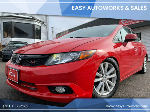 2012 Honda Civic for sale at Easy Autoworks & Sales in Whitman MA