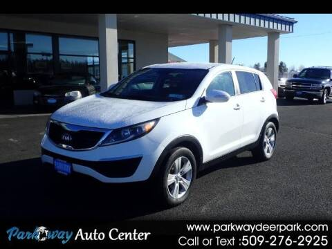 2013 Kia Sportage for sale at PARKWAY AUTO CENTER AND RV in Deer Park WA