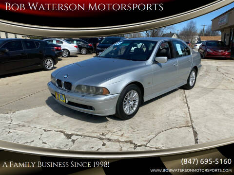 2003 BMW 5 Series for sale at Bob Waterson Motorsports in South Elgin IL