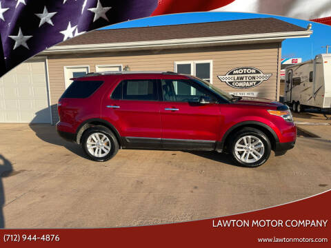 2013 Ford Explorer for sale at Lawton Motor Company in Lawton IA