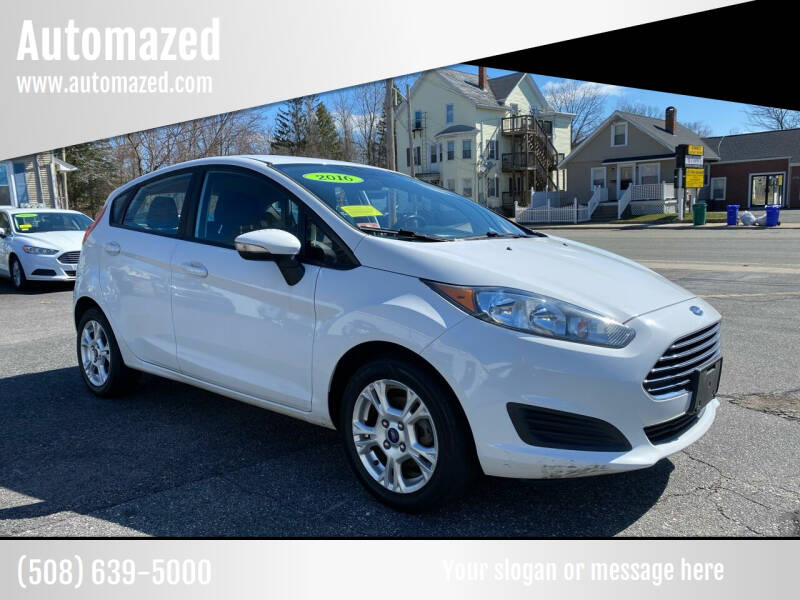 2016 Ford Fiesta for sale at Automazed in Attleboro MA