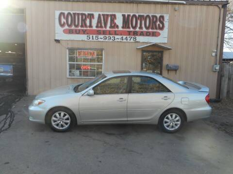 2003 Toyota Camry for sale at Court Avenue Motors in Adel IA