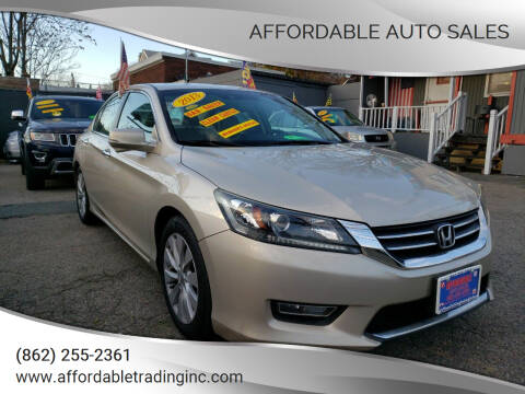 2013 Honda Accord for sale at Affordable Auto Sales in Irvington NJ