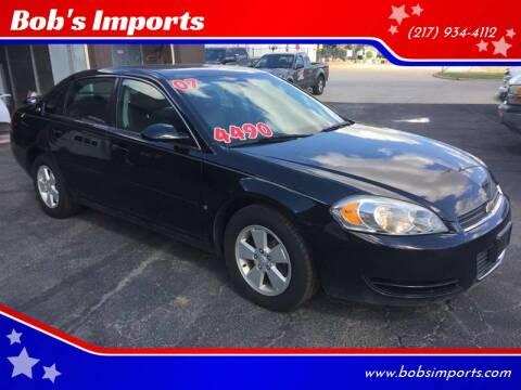 2007 Chevrolet Impala for sale at Bob's Imports in Clinton IL
