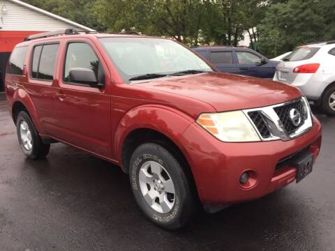 2008 Nissan Pathfinder for sale at GMG AUTO SALES in Scranton PA