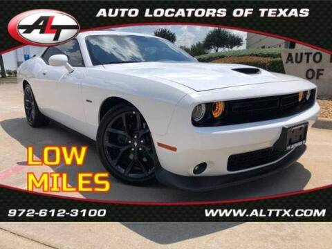 2019 Dodge Challenger for sale at AUTO LOCATORS OF TEXAS in Plano TX