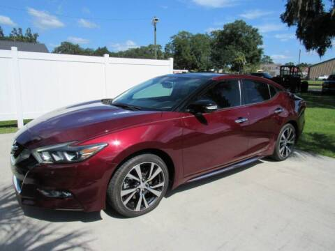 2017 Nissan Maxima for sale at D & R Auto Brokers in Ridgeland SC