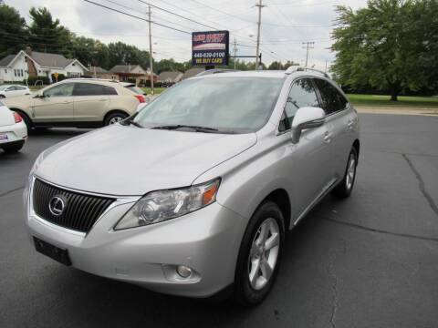 2010 Lexus RX 350 for sale at Lake County Auto Sales in Painesville OH