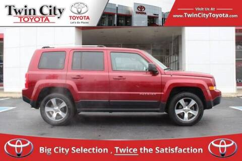 2017 Jeep Patriot for sale at Twin City Toyota in Herculaneum MO
