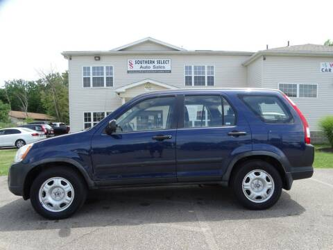 2006 Honda CR-V for sale at SOUTHERN SELECT AUTO SALES in Medina OH