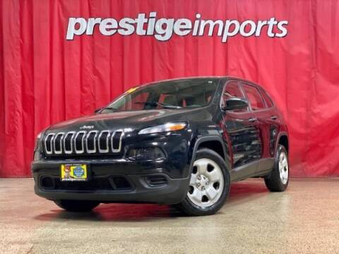 2016 Jeep Cherokee for sale at Prestige Imports in St Charles IL