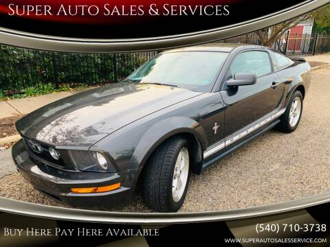 2007 Ford Mustang for sale at Super Auto Sales & Services in Fredericksburg VA