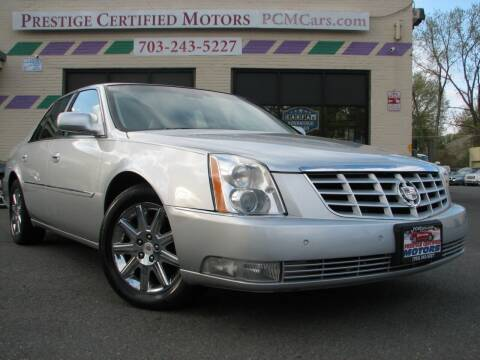 2010 Cadillac DTS for sale at Prestige Certified Motors in Falls Church VA